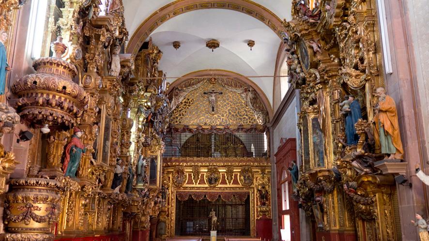Templo de Santa Clara – Ciudades Patrimonio de Mexico